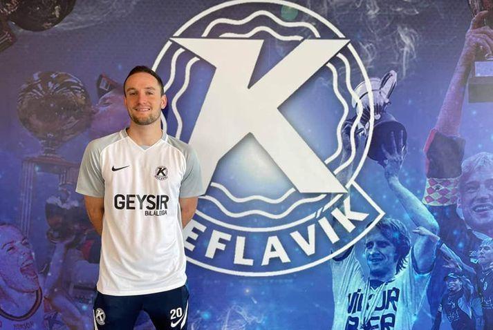 Christian Volesky mun leika með Keflavík í sumar.