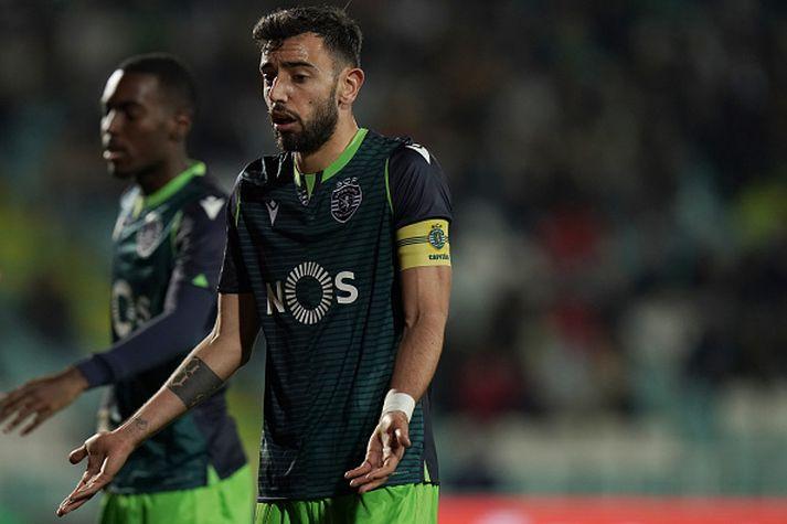Fernandes í leik Sporting á föstudagskvöldið.