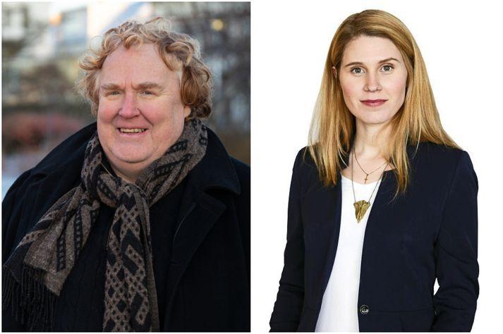 Egill Helgason og Fanney Birna hafa stýrt Silfrinu saman.