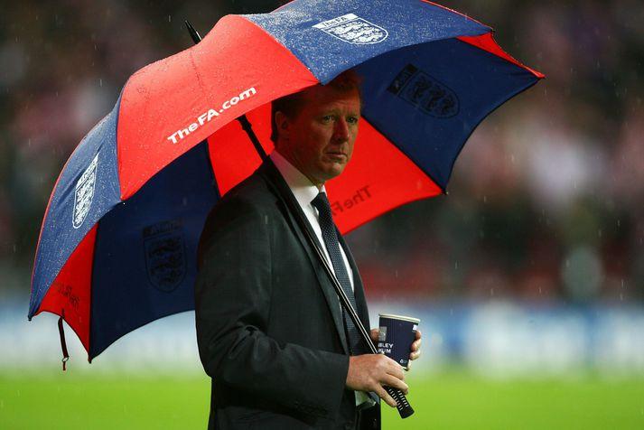 McClaren í leiknum fræga er England datt út gegn Króatíu í undankeppni EM 2008.