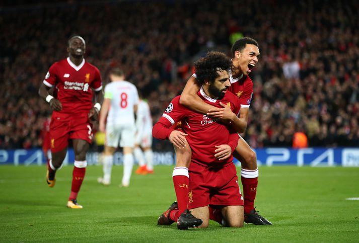 Liverpool endaði riðlakeppnina á 7-0 sigri.