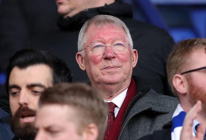 Sir Alex Ferguson hefur tjáð sig um heilablæðingu sem hann varð fyrir í maí 2018.