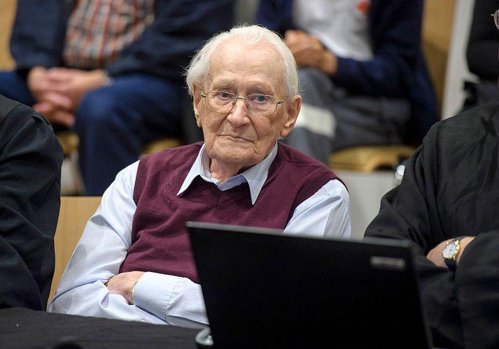 Oskar Gröning var 96 ára þegar hann lést.