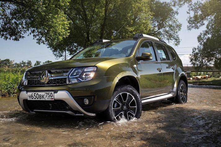 Dacia Duster er ekki bara vinsæll hér á landi.