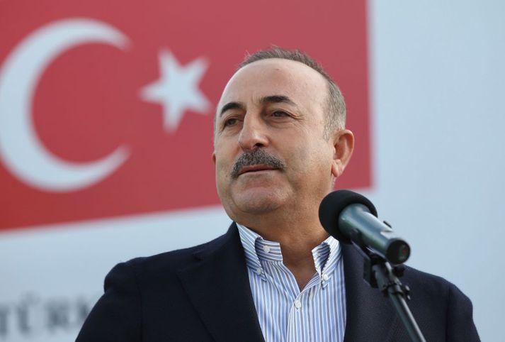 Mevlüt Çavuşoğlu, utanríkisráðherra Tyrklands.