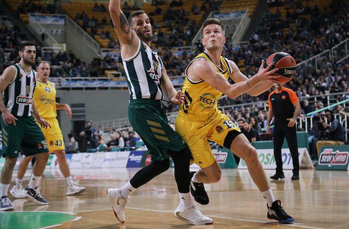 Martin í síðasta leik Alba í EuroLeague.