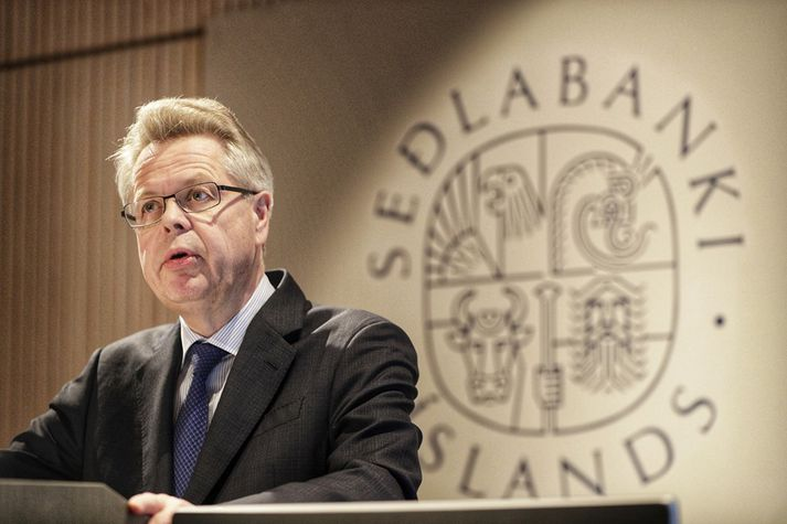 Már Guðmundsson seðlabankastjóri