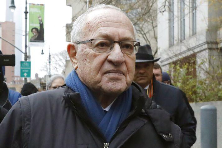Á meðal fyrri skjólstæðinga Dershowitz eru Jeffrey Epstein og OJ Simpson.