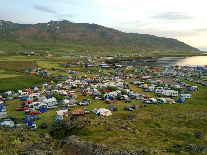 Borgarfjörður eystri þar sem Bræðslan fer nú fram.