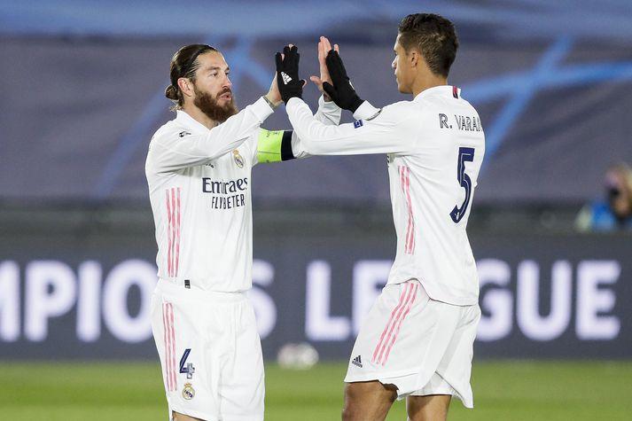 Bæði Sergio Ramos og Raphaël Varane hafa greinst með Covid-19 á stuttum tíma.