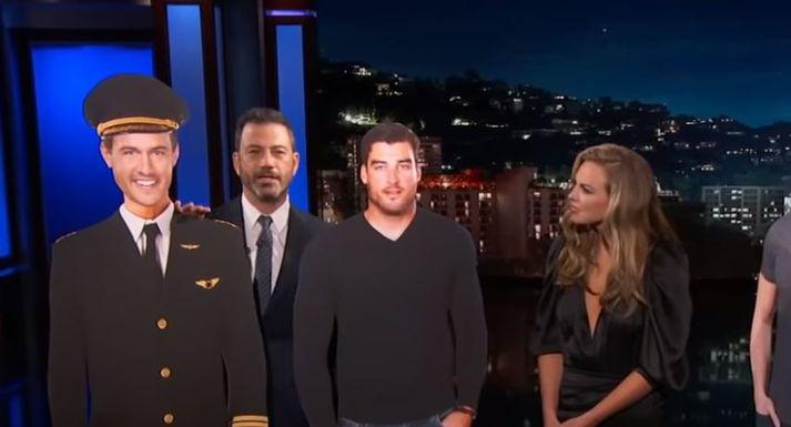 Kimmel og eiginkona hans horfa alltaf saman á þættina.