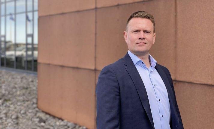 Árni Huldar Sveinbjörnsson.