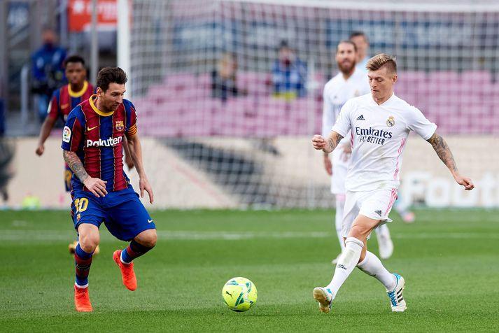 Barcelona og Real Madrid eru meðal þeirra félaga sem eru hlynnt stofnun ofurdeildar Evrópu.