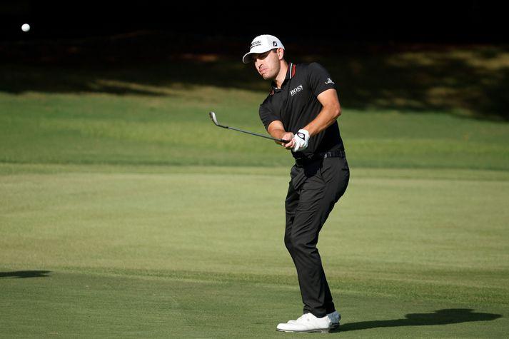 Patrick Cantlay er með tveggja högga forystu fyrir lokahringinn á lokamóti PGA-mótaraðarinnar.