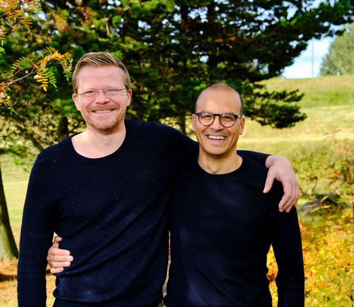 Haukur Skúlason og Tryggvi Björn Davíðsson hafa þekkst frá því í grunnskóla.