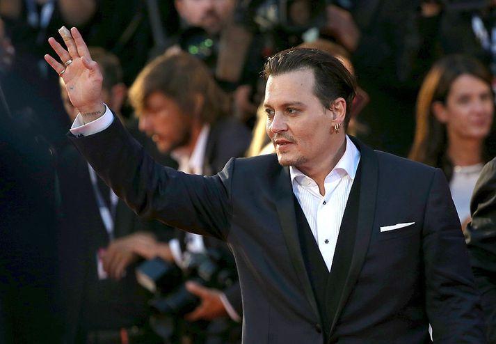 Johnny Depp hefur lengi verið andlit Dior.