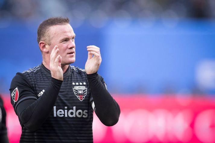 Spyrnugetan er enn í fínu lagi hjá Rooney.