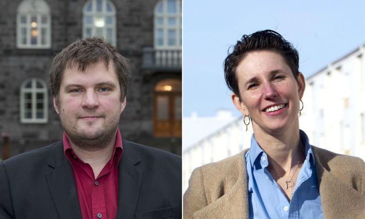 Pawel Bartoszek og Nichole Leigh Mosty, fyrrverandi stjórnarþingmenn.