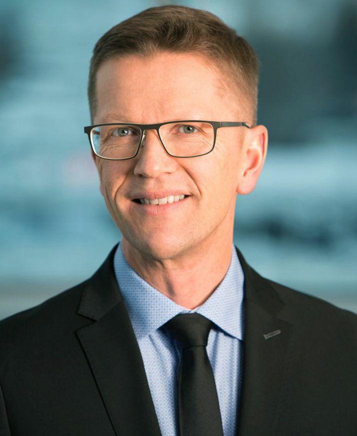 Sæmundur Sæmundsson, forstjóri Borgunar.