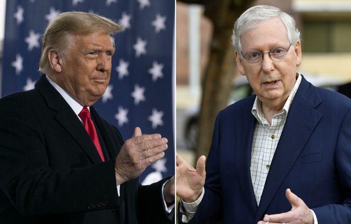 Donald Trump og Mitch McConnell hafa gert umfangsmiklar breytingar á dómskerfi Bandaríkjanna á einungis fjórum árum.
