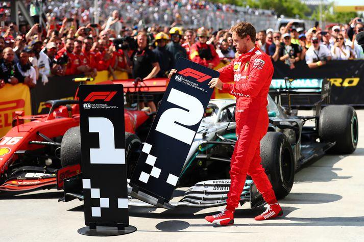 Vettel vildi meina að hann hefði átt að vinna Kanadakappaksturinn.