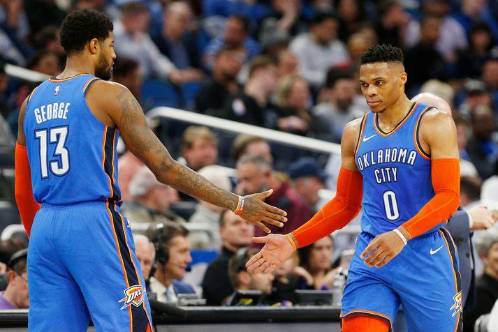 Westbrook og George.