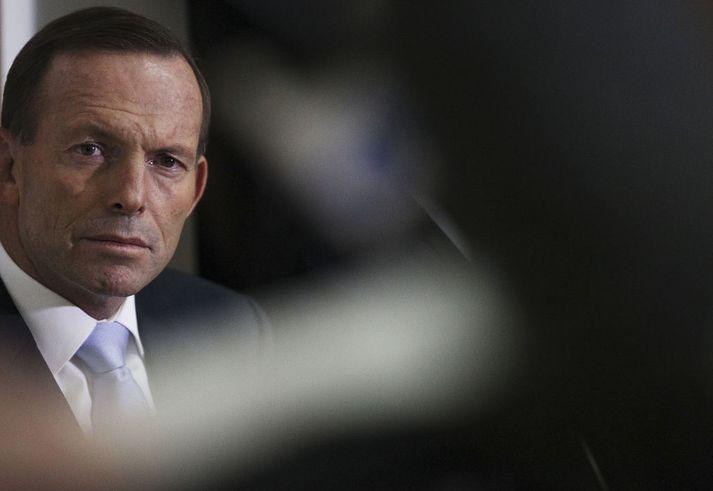 Tony Abbott var forsætisráðherra Ástralíu þegar flugvél Malaysian Airlines MH370 hvarf.