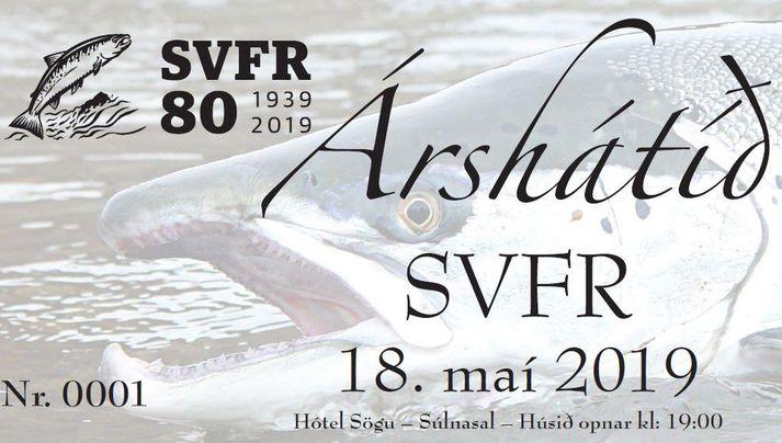 Árshátið SVFR fer fram eftir viku.