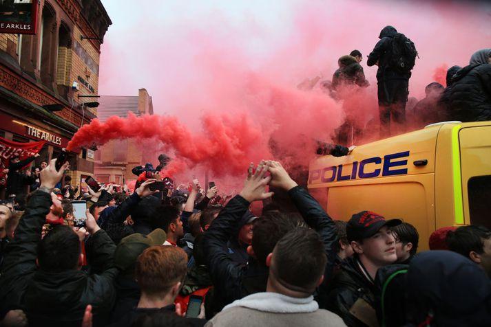 Stuðningsmenn Liverpool þurfa að fara varlega í Róm.