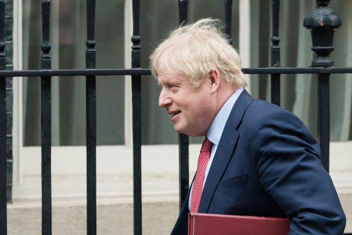 Boris Johnson er forsætisráðherra Bretlands.