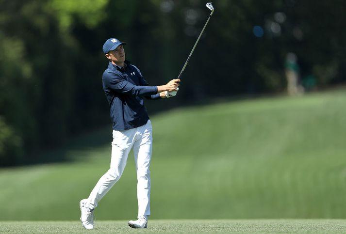 Spieth spilaði frábært golf í dag