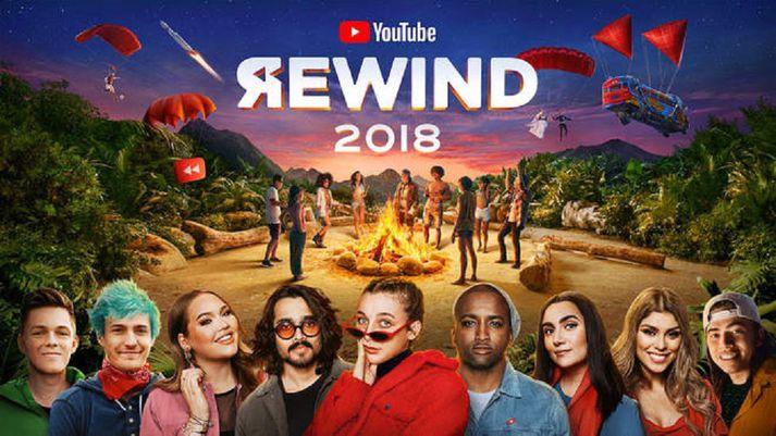 Youtube gaf út árssamantekt sína ígær.