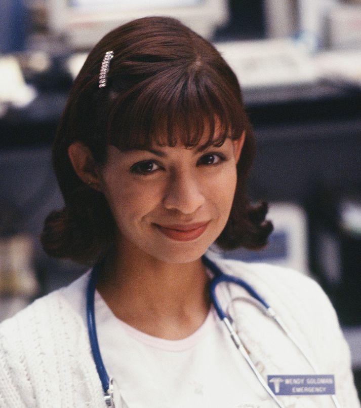 Vanessa Marquez í hlutverki hjúkrunarfræðingsins Wendy Goldman.