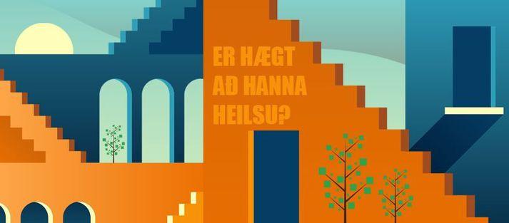 Viðburðurinn Er hægt að hanna heilsu? er hluti af HönnunarMars 2021.