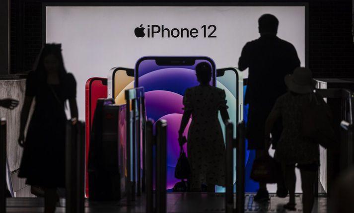 iPhone 12 hefur selst gífurlega vel.