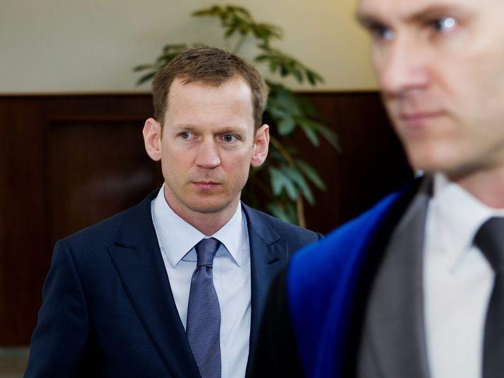 Hörður Felix Harðarson er verjandi Hreiðars Más.
