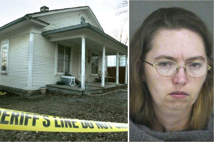 Lisa Montgomery myrti Bobbie Jo Stinnet á heimili heimili þeirrar síðarnefndu árið 2004.