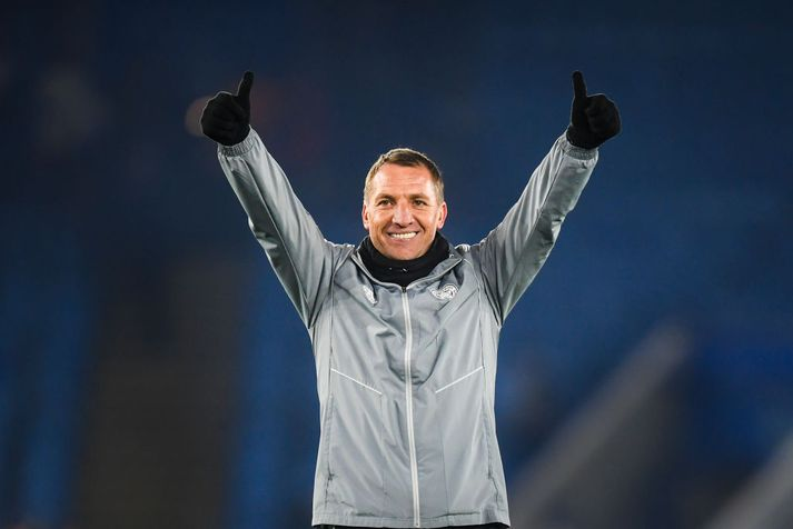 Rodgers er að gera frábæra hluti með Leicester.