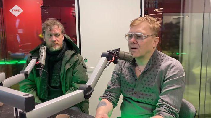 Sigurjón og Jón Gnarr hafa hnakkrifist í gegnum tíðina.