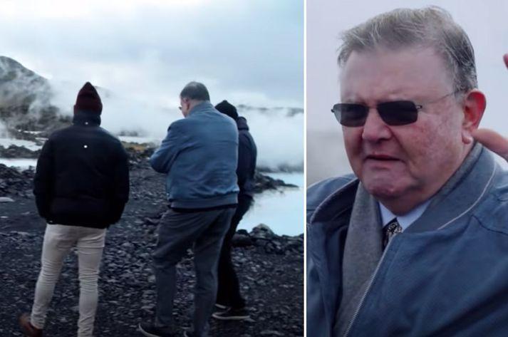 Fjallað er um Ísland í þáttunum.