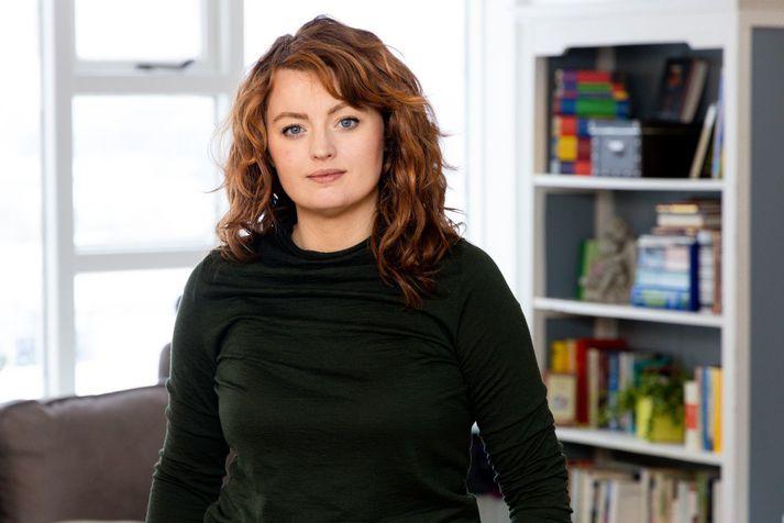 Steinunn Anna Sigurjónsdóttir, sálfræðingur hjá Litlu kvíðameðferðarstöðinni.