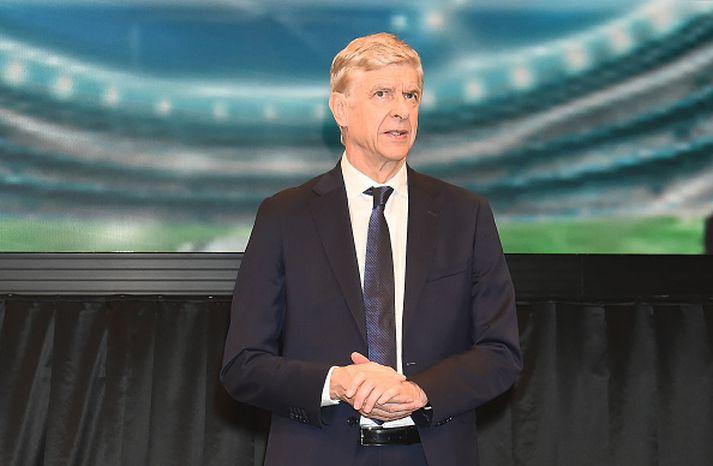 Arsene Wenger, fyrrum stjóri Arsenal.