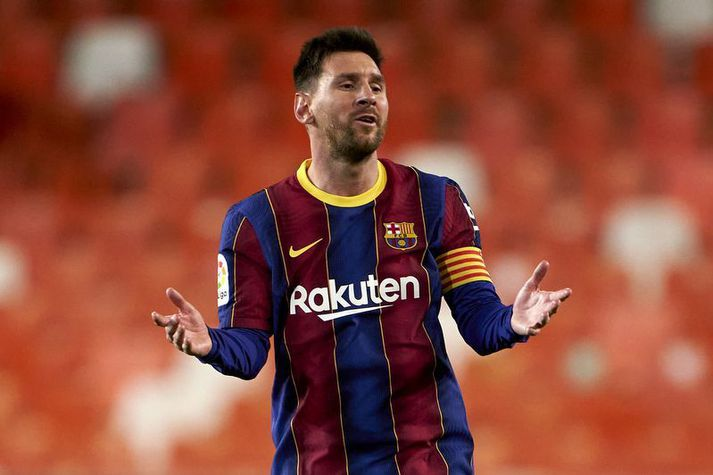 Braut Lionel Messi einhverjar sóttvarnarreglur. Það vilja La Liga menn nú komast að.