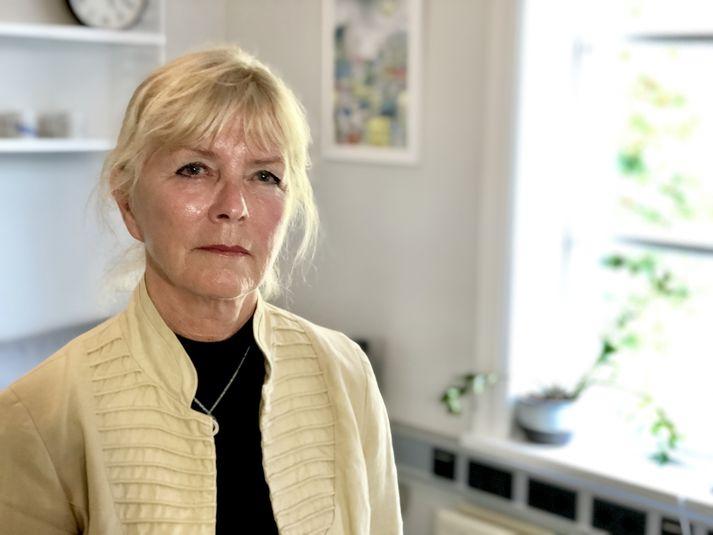 Sigríður Snæbjörnsdóttir, varaformaður félags eldri borgara.