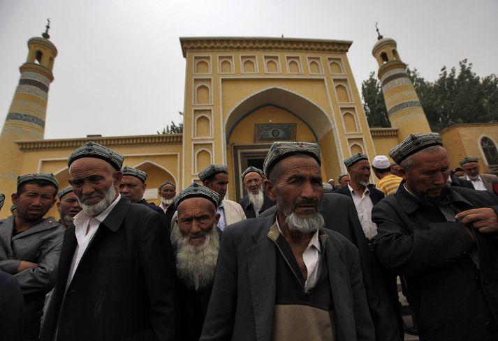 Úígúrar eru um 45 prósent íbúa Xinjiang-héraðs.