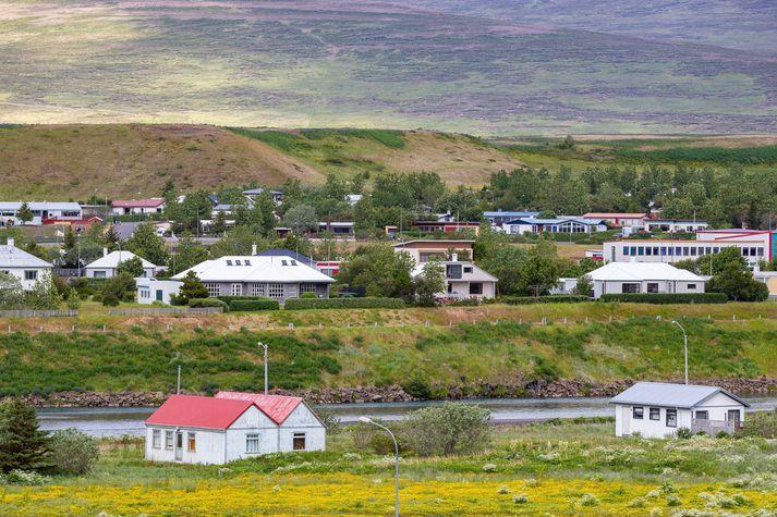 Fulltrúar Arion banka kynntu hugmyndir um skerðingu á bankaþjónustu á Blönduósi á fundi sveitarstjórnar í gær.