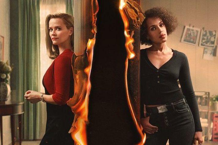 Reese Witherspoon og Kerry Washington leika aðalhlutverkin í Little Fires Everywhere.