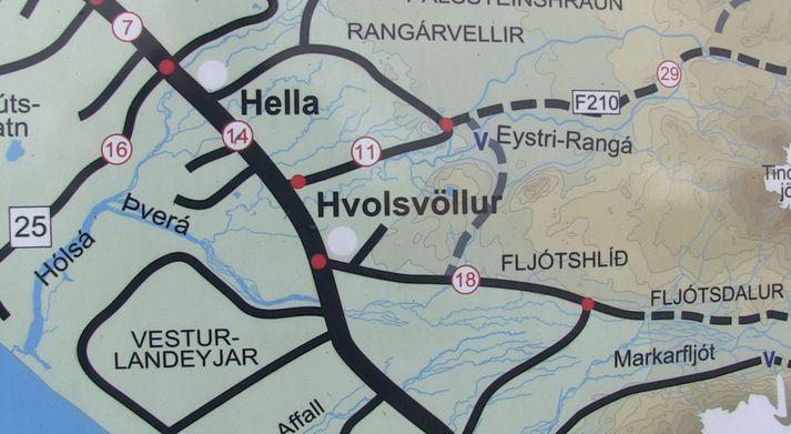 Sameiningaviðræður eru hafnar á milli fimm sveitarfélaga í Rangárvallasýslu og Vestur Skafafellssýslu eru hafnar.