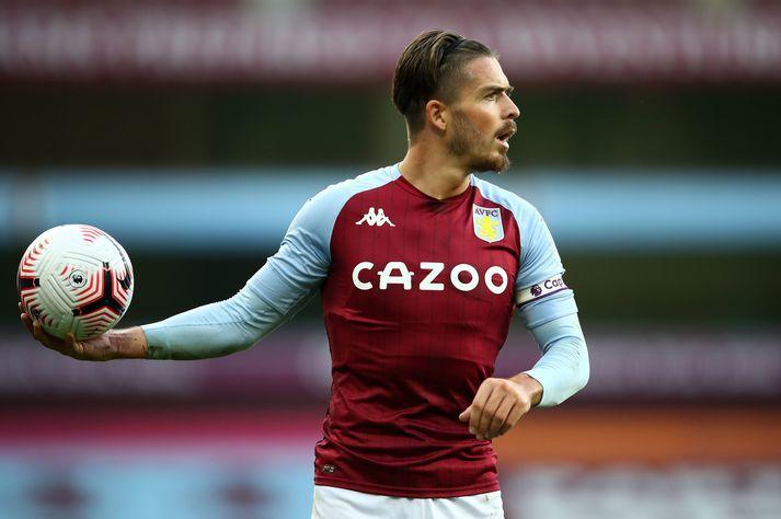 Jack Grealish fór mikinn í liði Aston Villa í kvöld sem lék sér einfaldlega að Fulham á útivelli.