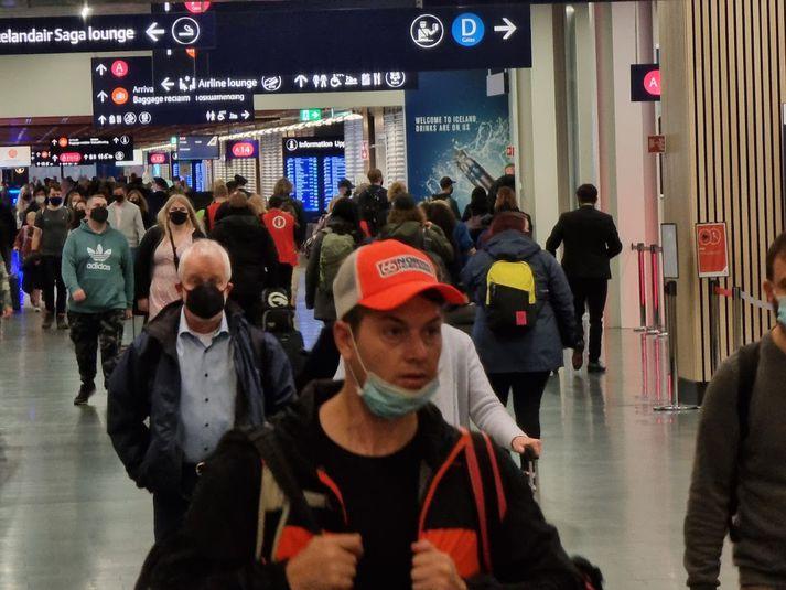 Bandaríkjamenn hafa verið um helmingur þeirra farþega sem komið hafa til landsins á þessu ári.